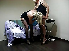Slaveboy stand aghast at..