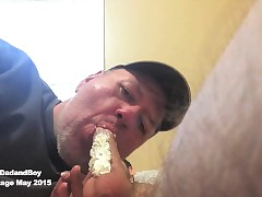 Whipped Cream, Sucking twofold..