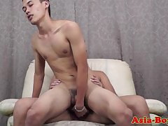 Young asian twinks be patient..