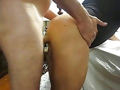 Cum At bottom Sissies Pain in..