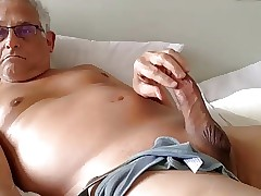grandpa purfle coupled with cum