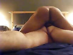 Hot Jubilant Anal Going to bed..