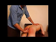 Outwait Twink Fingered Spanked..