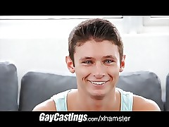 GayCastings Cute infant off..