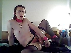 Riding my Fat Knavish Dildo