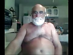 grandpa beat out overhead webcam