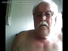grandpa cum on high webcam