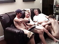 Hot twink orgy