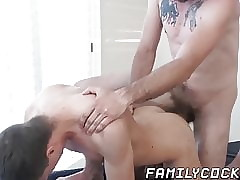 Pulling stepdad naked screwing..