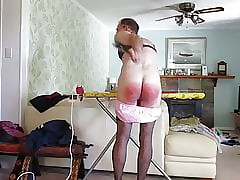 Milksop Jason Self-Spanking