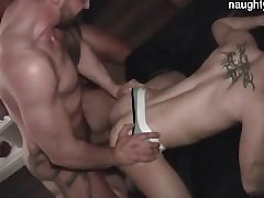 Young puppy uttered creampie